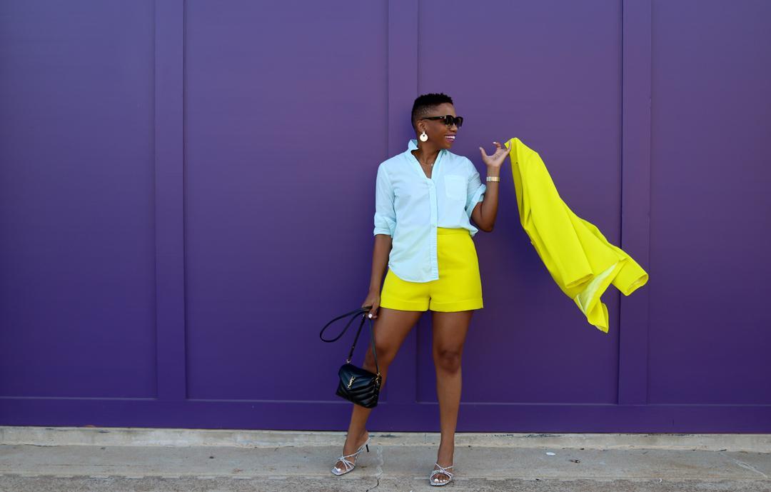 Fresh-For-Summer Color Blocking