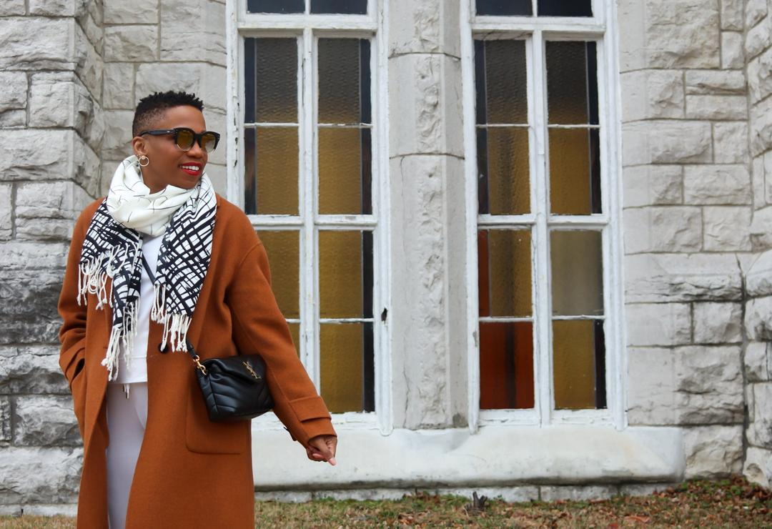 Chic Color Combo: Brown, White, And Black